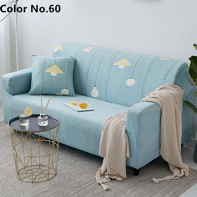 Stretchable Elastic Sofa Cover Color No 60 Sofa Covers Slipcovers For Chairs Love Seat