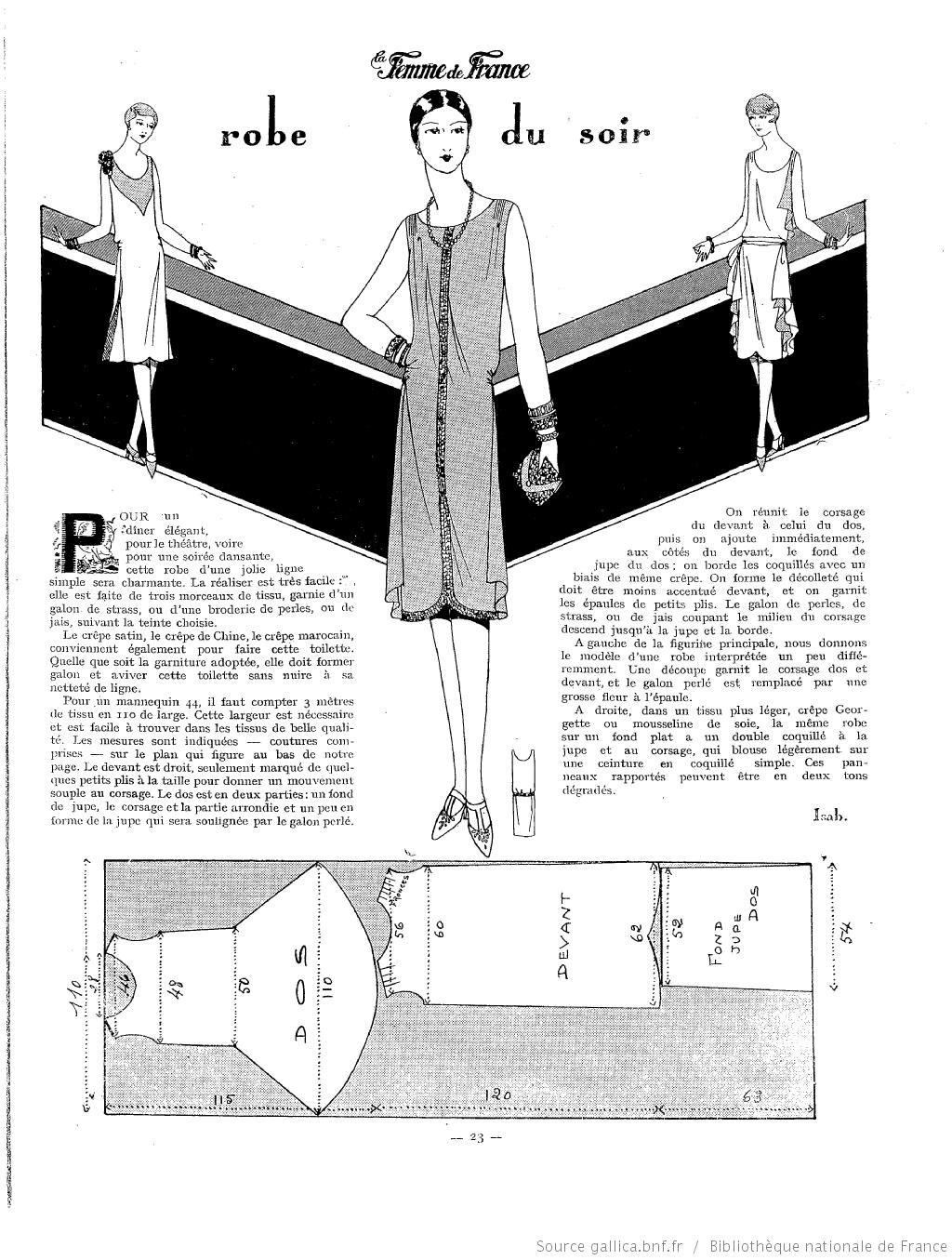 La Femme de France | PATRONES | Pinterest | Moda vintage y Patrones
