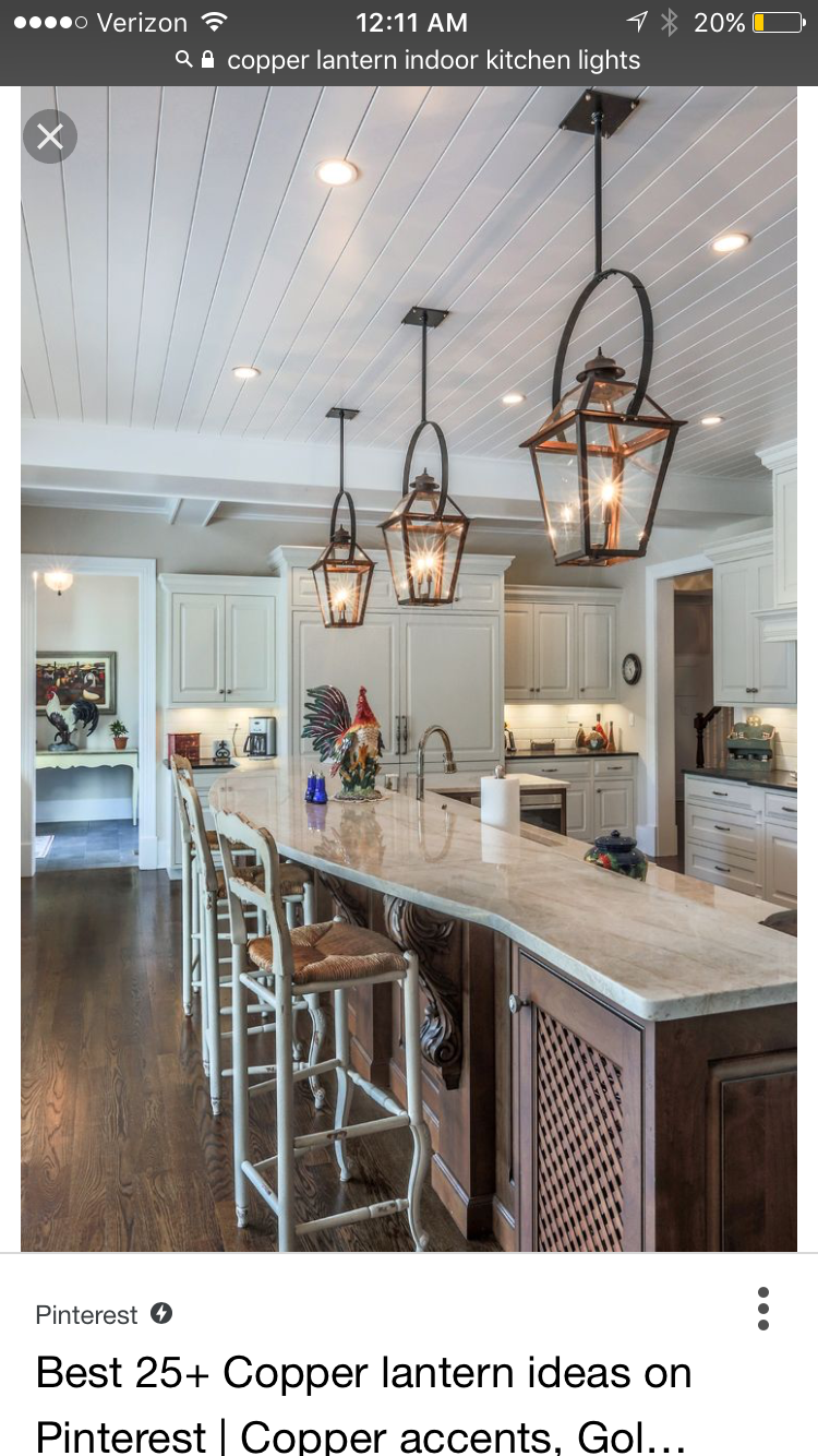 Pinheather Johnson On Kitchen  Pinterest  Lights Amazing Kitchen Lanterns Decorating Inspiration