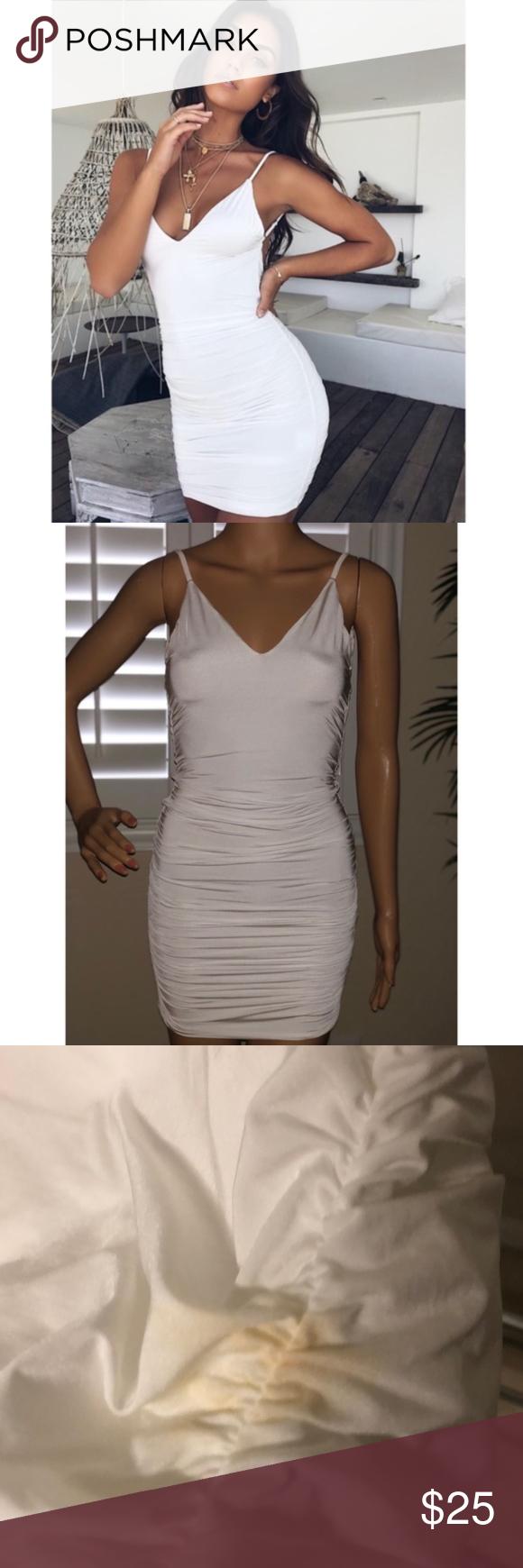 Tiger Mist Ally Dress White Xs Stretchy Dress Tiger Mist Dress White Dress [ 1740 x 580 Pixel ]