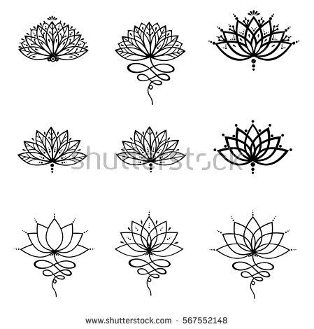 Image Result For Lotus Tattoo Design My Style Pinterest