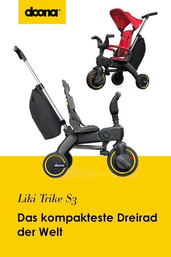 Liki Trike S3 - Kinderdreirad   Dreirad. Autositz. Babyschale