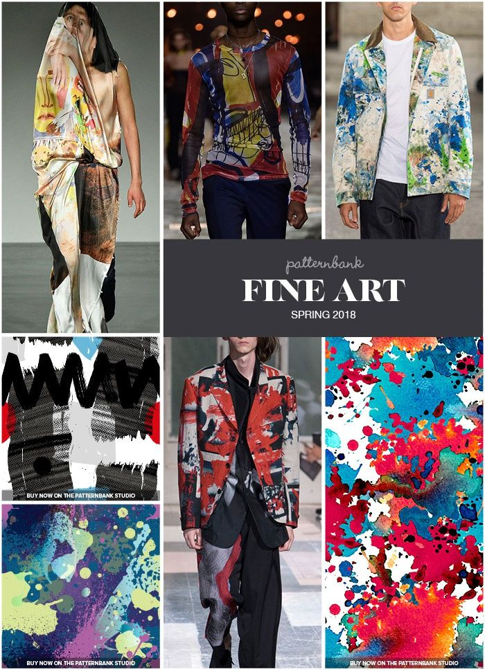 Menswear Spring 2018 Key Print And Pattern Trend Highlights