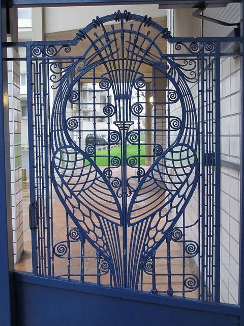 Ferronnerie Art Deco Au Fil Des Rues Reims 51 Art Deco Furniture Art Deco Design Art Deco