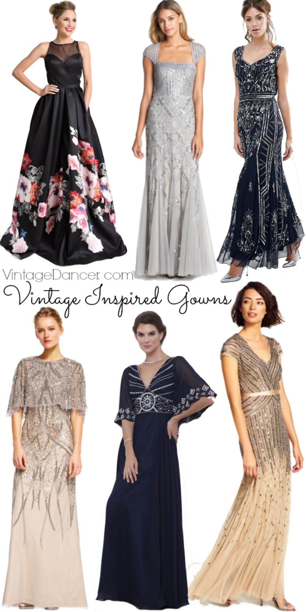 1940s Hollywood Evening Gowns: Vintage Inspired Evening Dresses, Gowns And Formal Wear