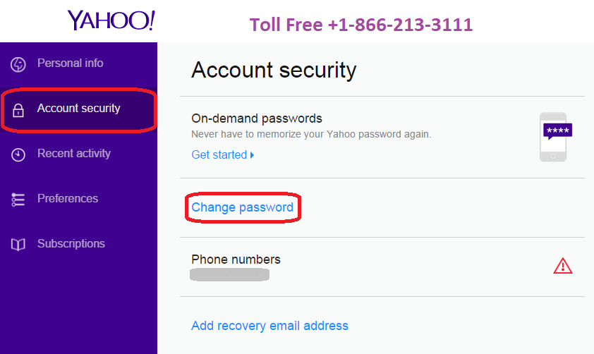 If you have a query, how to reset Yahoo password then ...