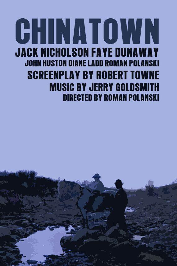 Chinatown 1974 (April 2014) by Roman. Polanski with Jack Nicholson and Faye Dunaway