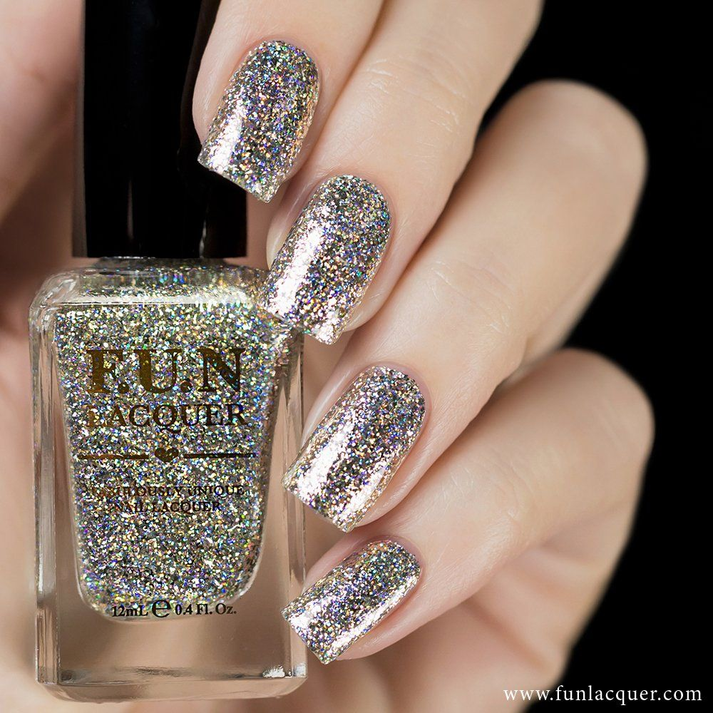 All fun lacquers nails pinterest holographic glitter