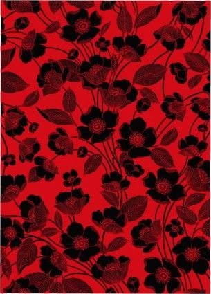 Black And Red Red And Black Background Red Flower Wallpaper Red Background