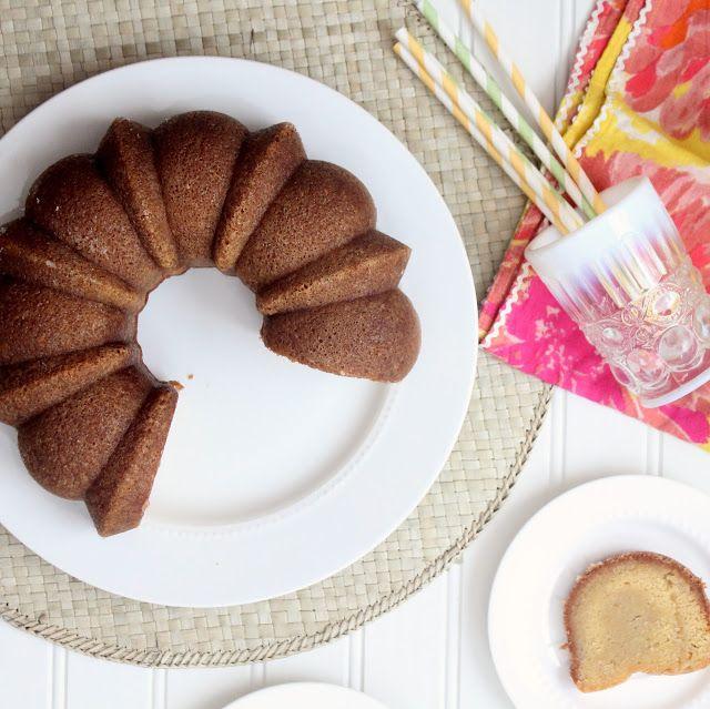 Cherry Tea Cakes: Rum Cake