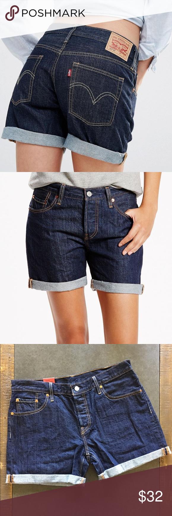 b4e21068 💋Women's Levi 501 CT Denim Shorts💋 NWT. My fav jeans in perfect denim