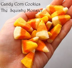 Candy Corn Cookies | The Squishy Monster #candycorncookies Candy Corn Cookies | The Squishy Monster #candycorncookies