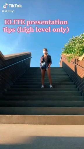 Presentation Tips Skittyy1 On Tiktok Video Presentation Ideas For School Life Hacks For School High School Life Hacks