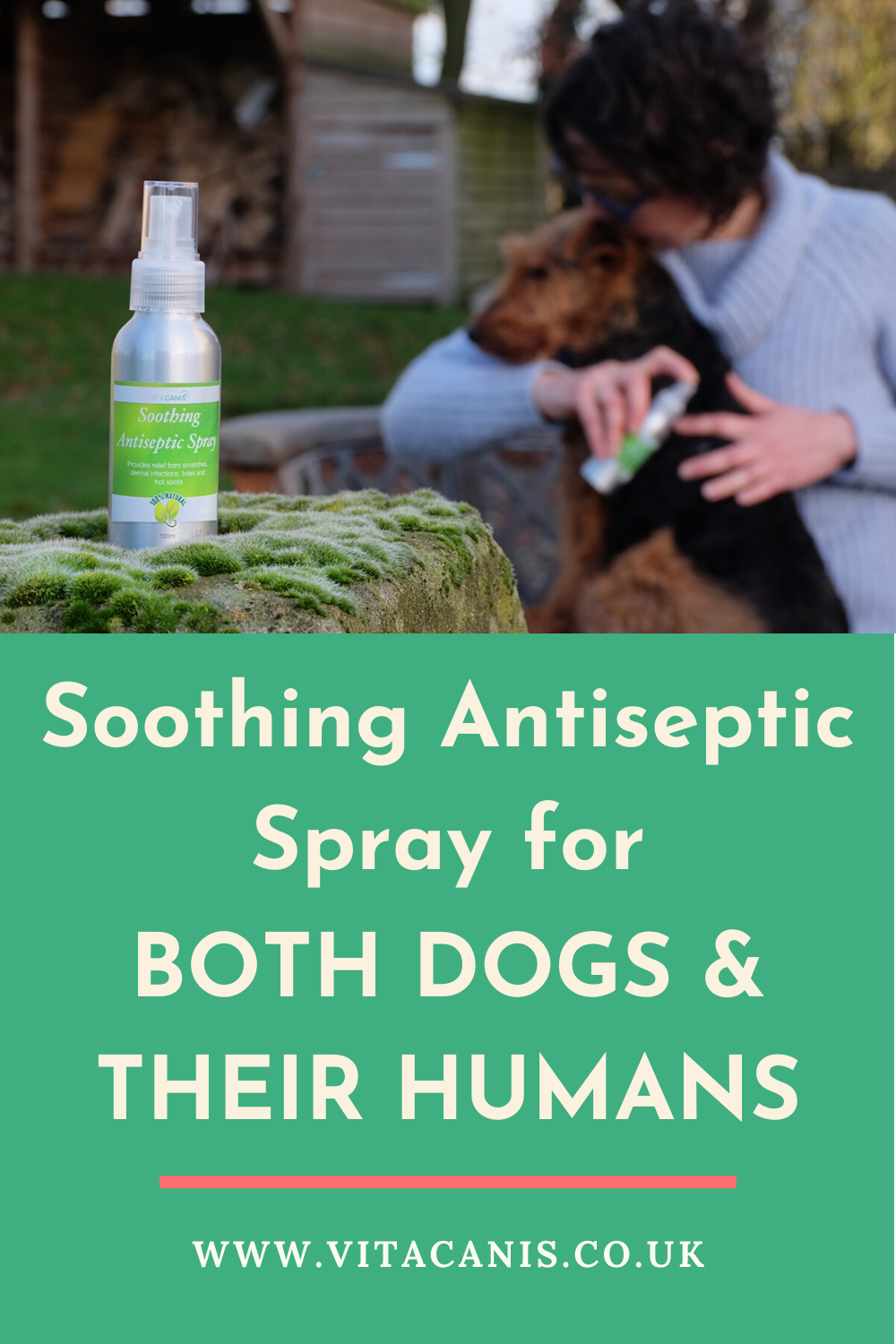 Vita Canis Soothing Antiseptic Spray Natural Antiseptic