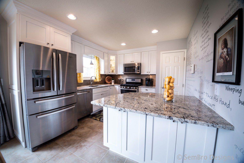 Columbus Ohio White Shaker Kitchen Shaker Kitchen Cabinets Kitchen Cabinet Remodel