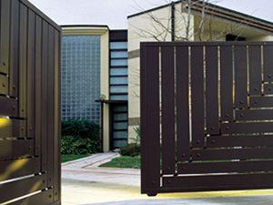 modern door gate design photo - 5 | P trap | Pinterest | Modern ...