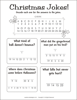 photograph regarding Printable Riddles for Kids identified as Xmas riddles - Xmas jokes for children - free of charge