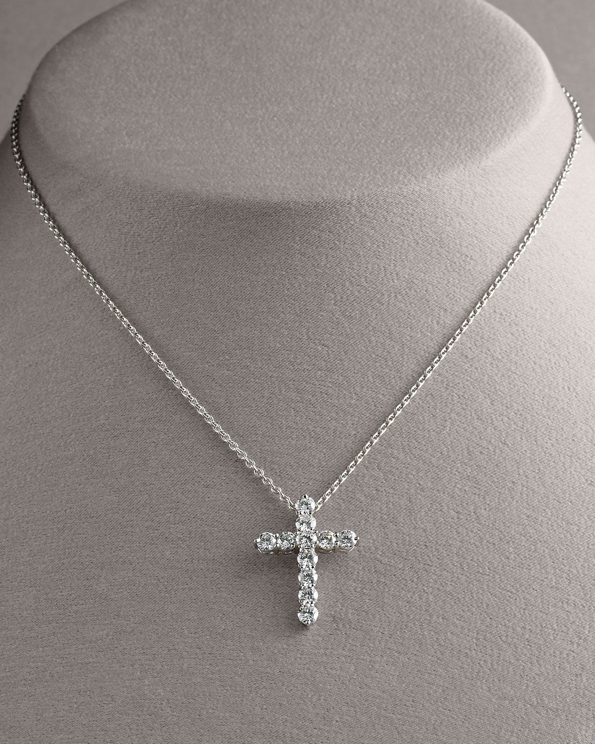 Httpharrisloveroberto coin diamond cross pendant necklace diamond roberto coin diamond cross pendant necklace large available at johnsons jewelers olde raleigh mozeypictures Choice Image