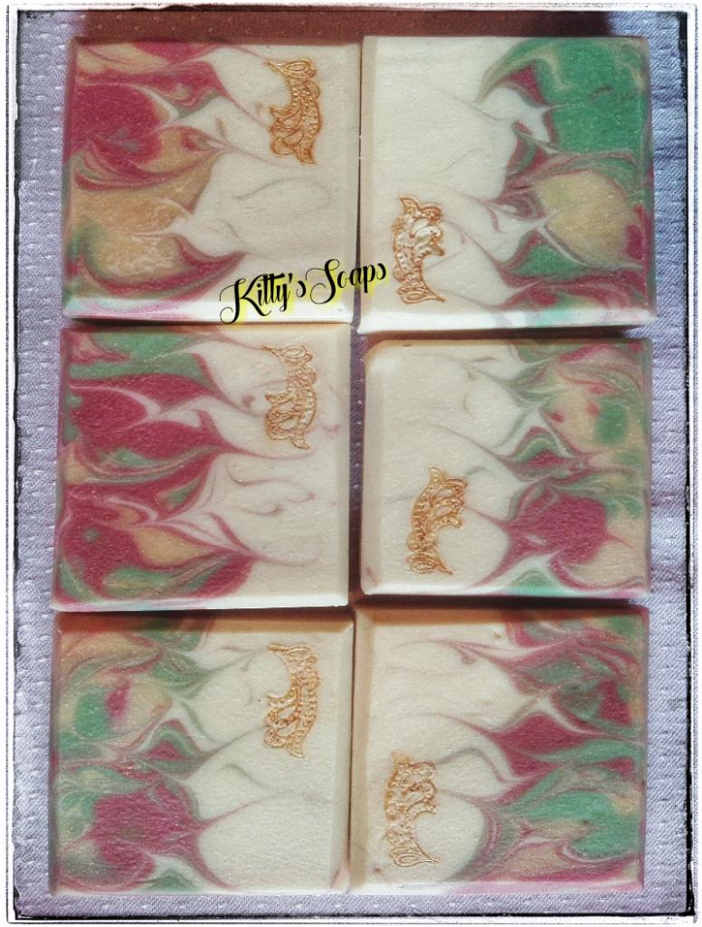 Handmade Soap with Cream X-Mas-Soap Weihnachtsseife handgemachte ...