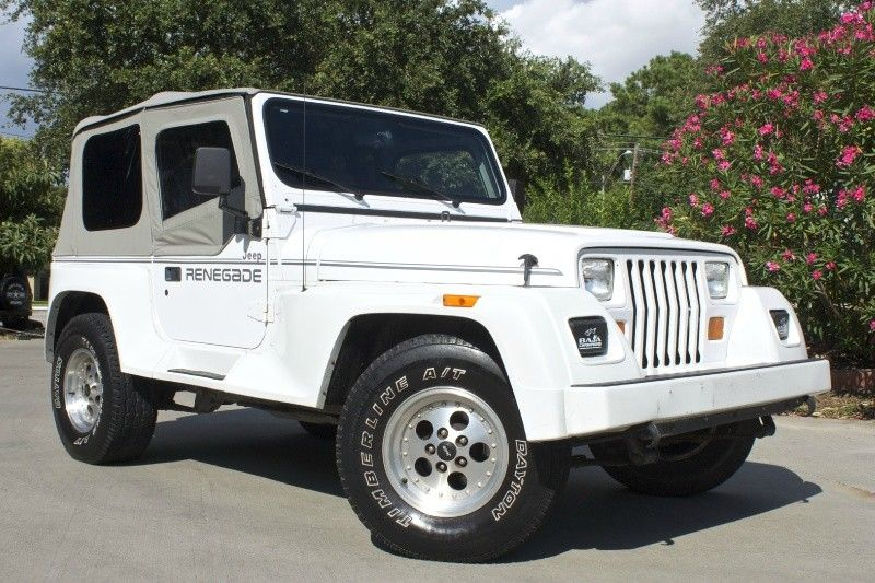 Yj Renegade 1993 New Soft Top 6 Cylinder 159k Miles 5 Speed