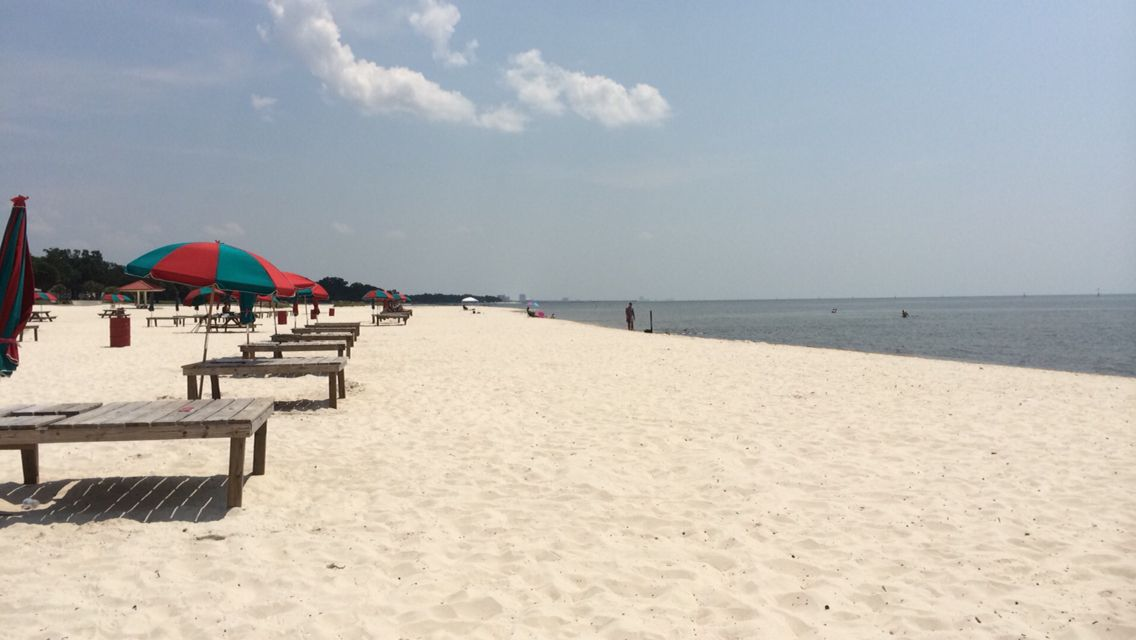 Pascagoula Beach Mississippi 2017 Ole Miss Town Summer