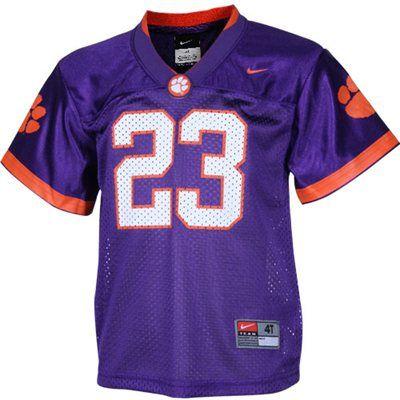 clemson tigers purple jersey