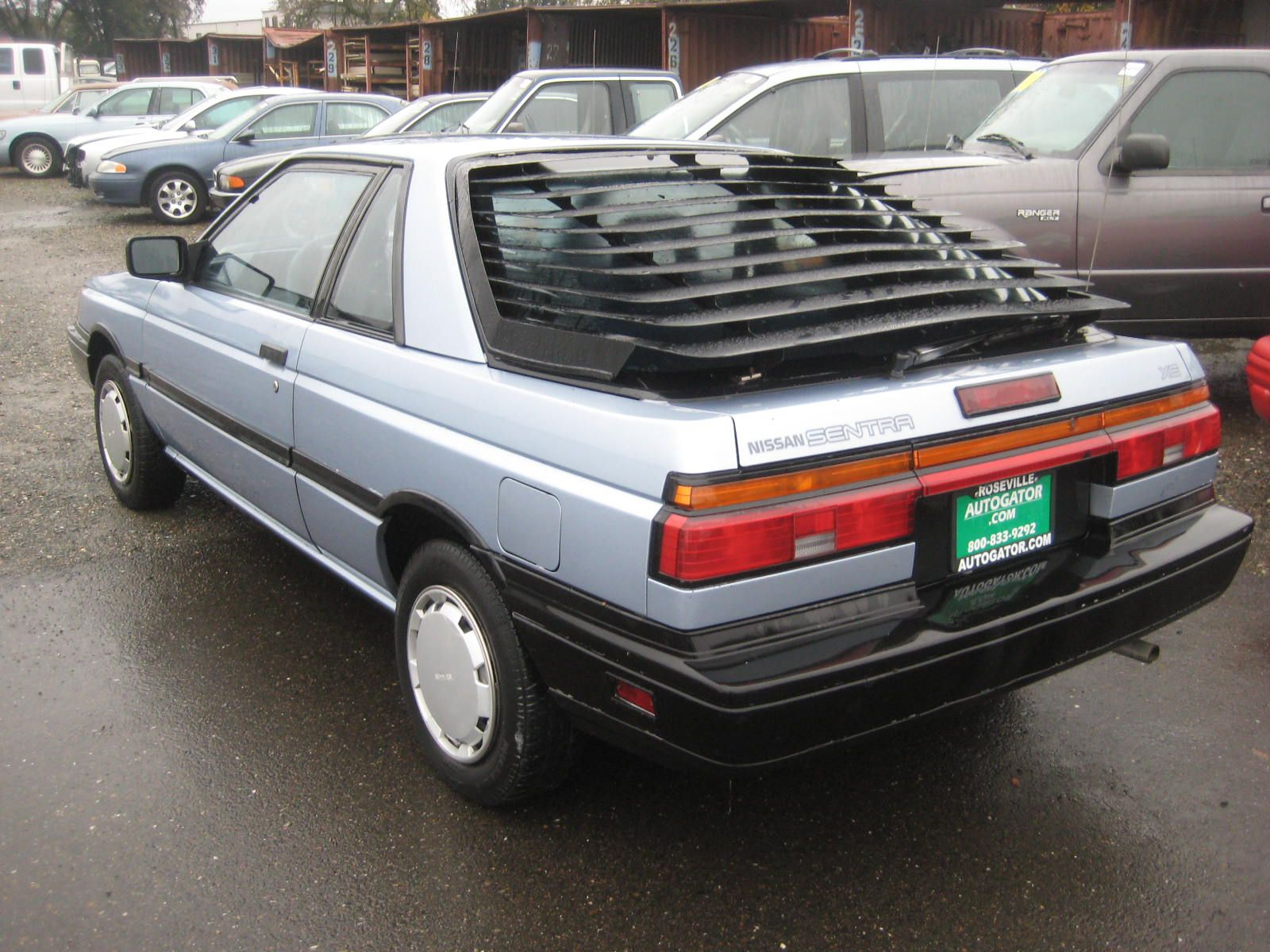 1987 Nissan Sentra Sport Coupe  If Ever There Was A Car In