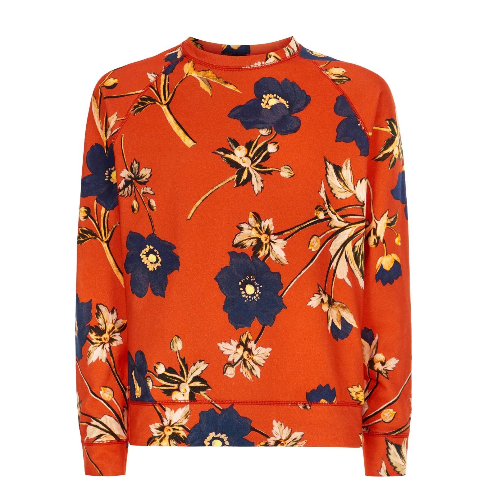 POPPIUM Cotton Sweatshirt - 60's Red  Was £185, now £130 http://www.houseofhackney.com/sale/poppium-cotton-sweatshirt-red.html