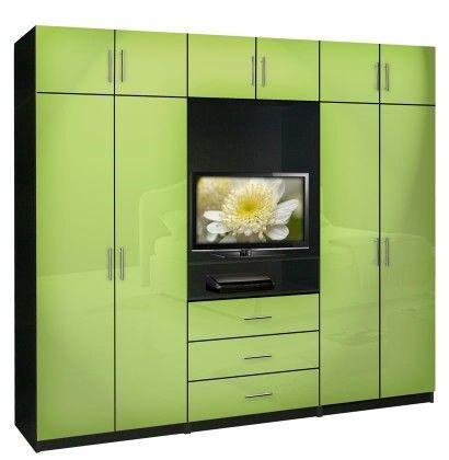 AventaBedroomWallUnitXTallTVWallUnitwExtraBedroom Interesting Bedroom Storage Units For Walls