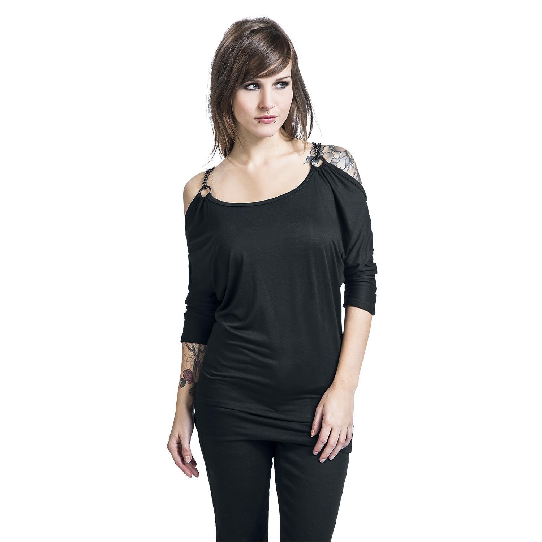 Linz Camisa Manga Larga – Compra ahora en EMP – Más Ropa Rockera Gótico  para día a día disponible online - ¡Precios Imbatibles! 0b640a81d5c29