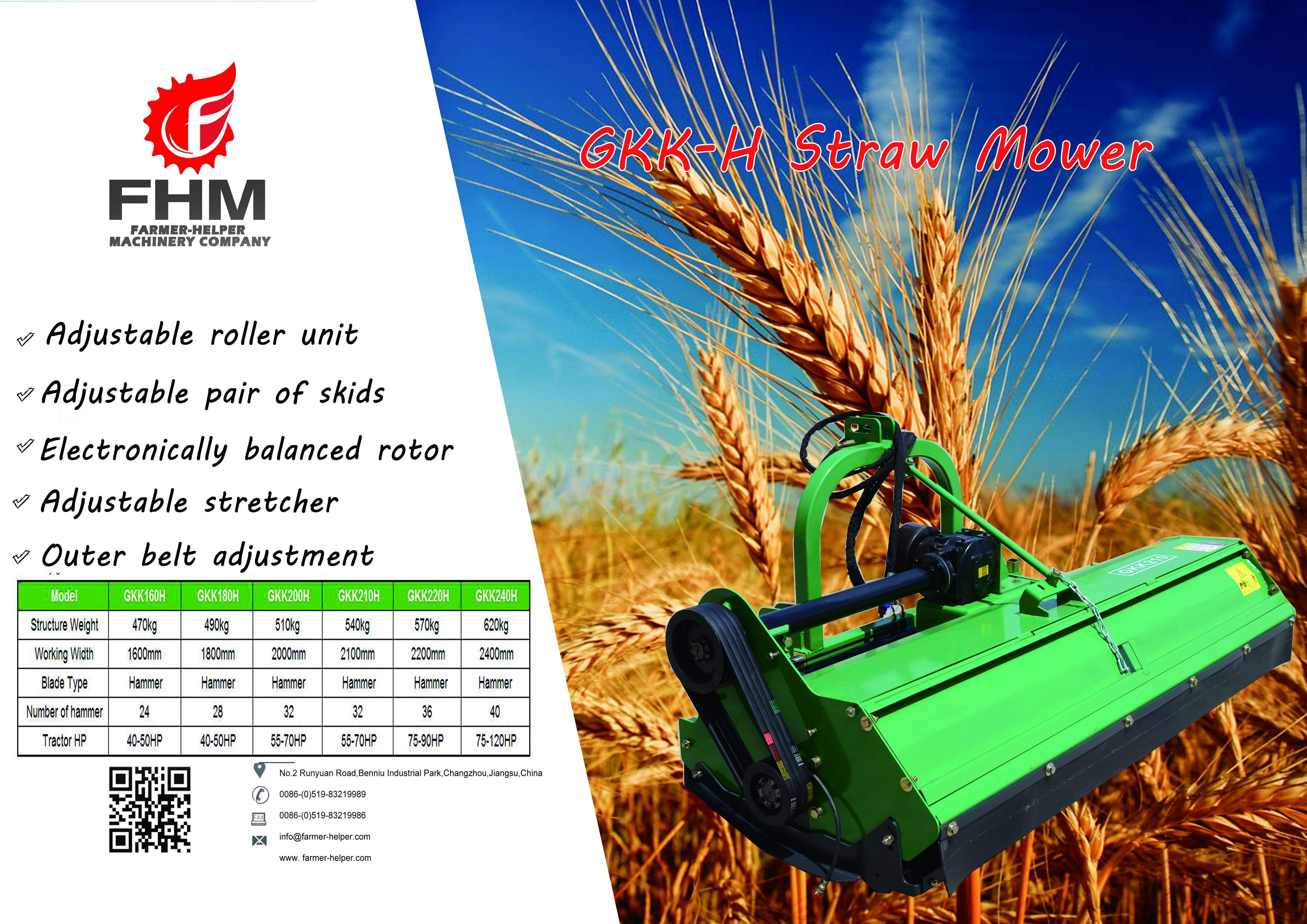 GKK-H Flail Mower Straw Mower | Mower | Farmer, Store