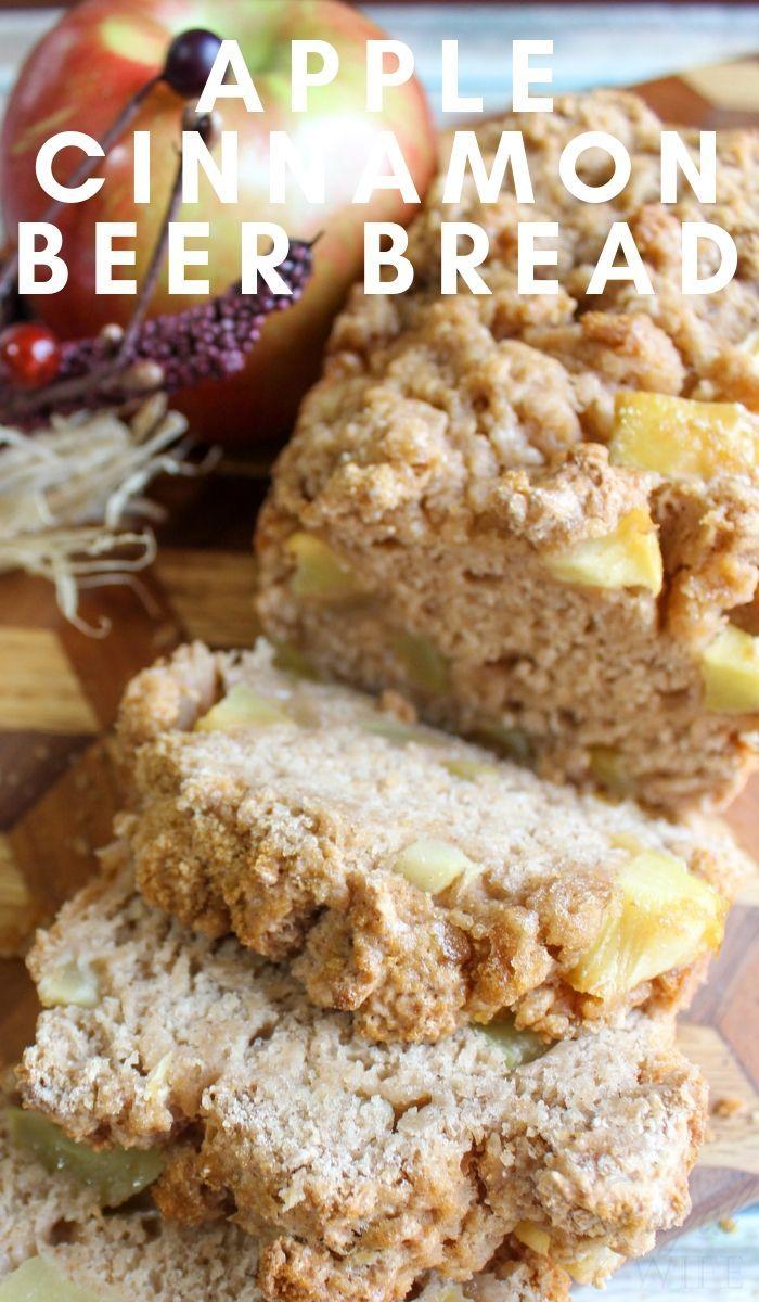 Apple Cinnamon Beer Bread images