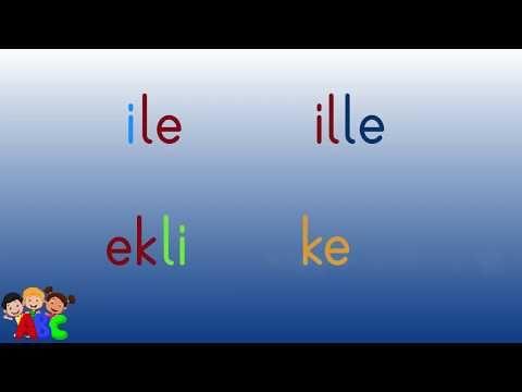 Dik Temel Harfler E L A Sesleri Ile Okuma Metinleri El Ele Elle Ela Lale Al La Ala Youtube Youtube 1 Sinif Okuma