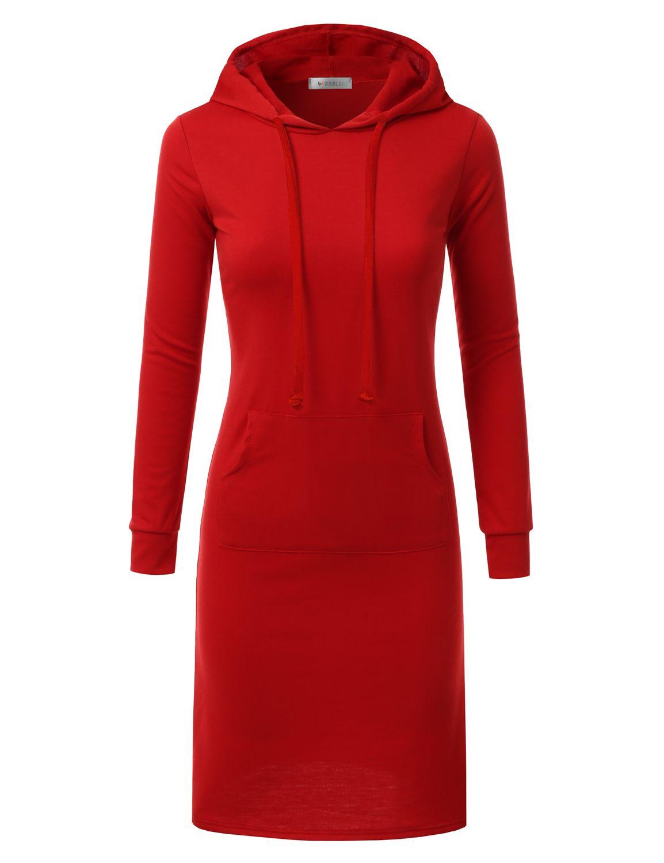 Doublju Doublju Womens Long Sleeve Hoodie Midi Dress Black M Walmart Com Hoodie Dress Hooded Dress Burgundy Hoodie [ 1500 x 1154 Pixel ]