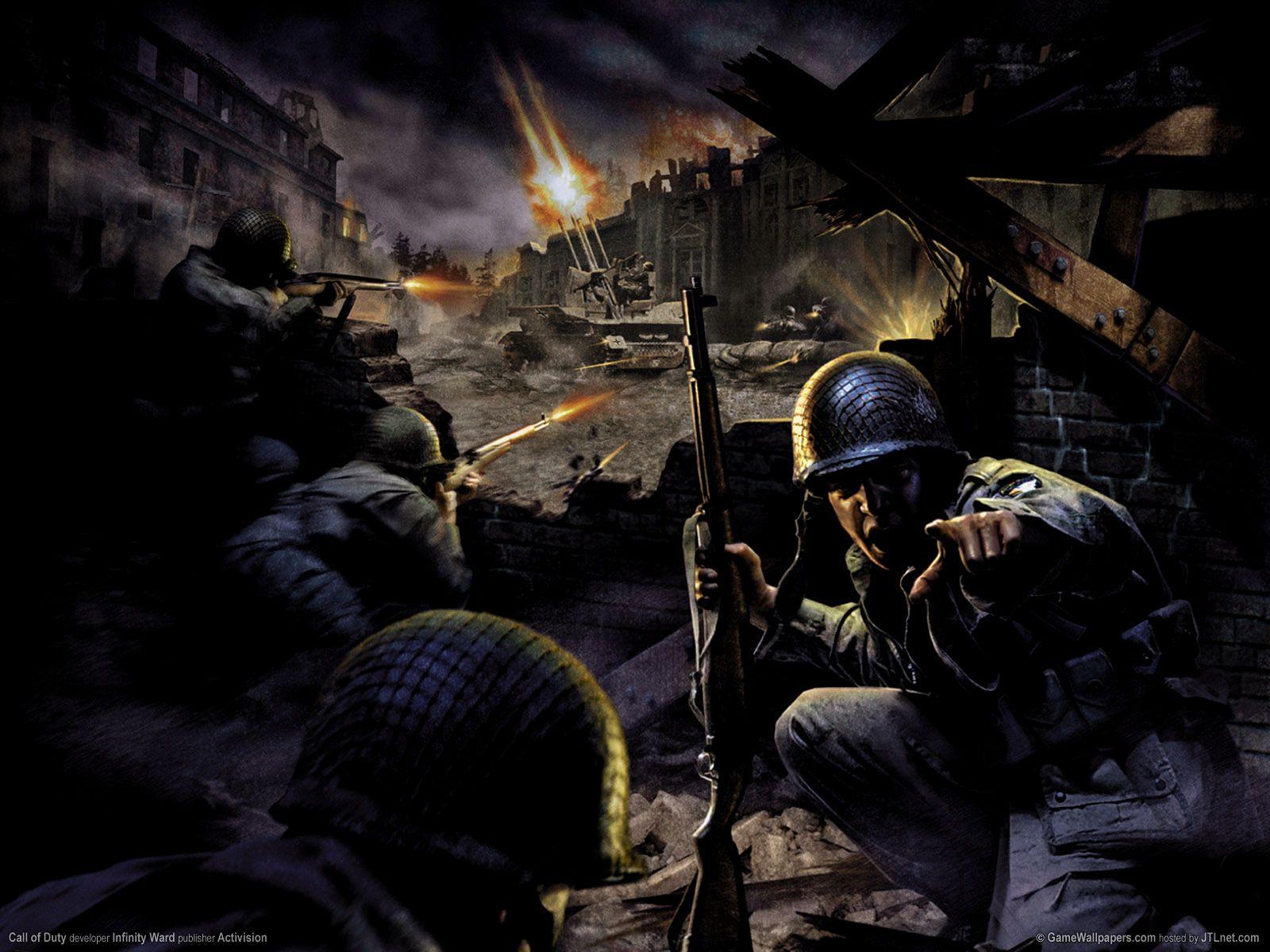 Call Of Duty 2 Wallpaper | Game Wallpaper | Ungkapan