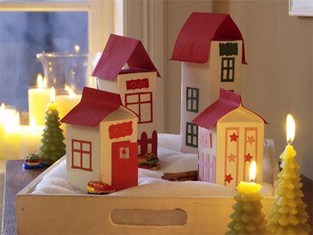 Casitas Decorativas De Navidad