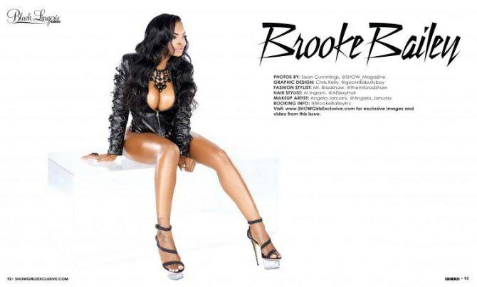 Opinion Black model brooke bailey apologise