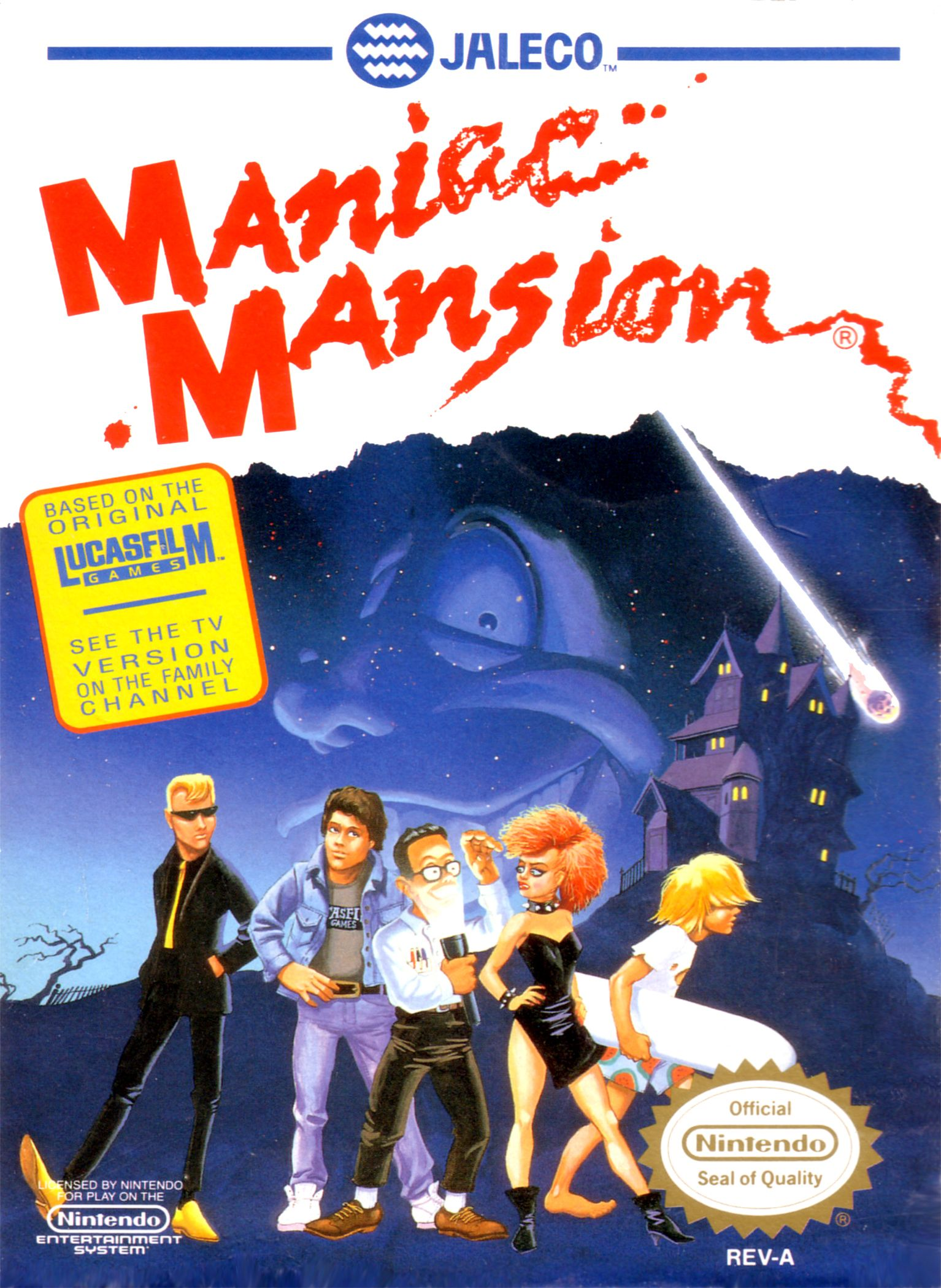 Maniac Mansion Nintendo Nes Games Nes Games Retro Gaming Art