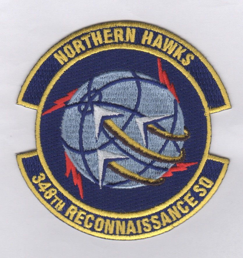 USAF Patch 348th Reconnaissance Squadron, Ndang Usaf