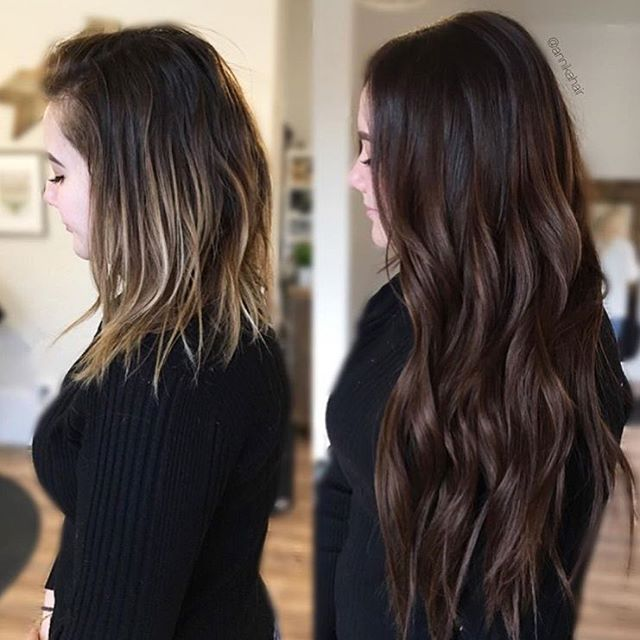 Hair Transformation 3 Packs Of Tape Ins 18 Color 4