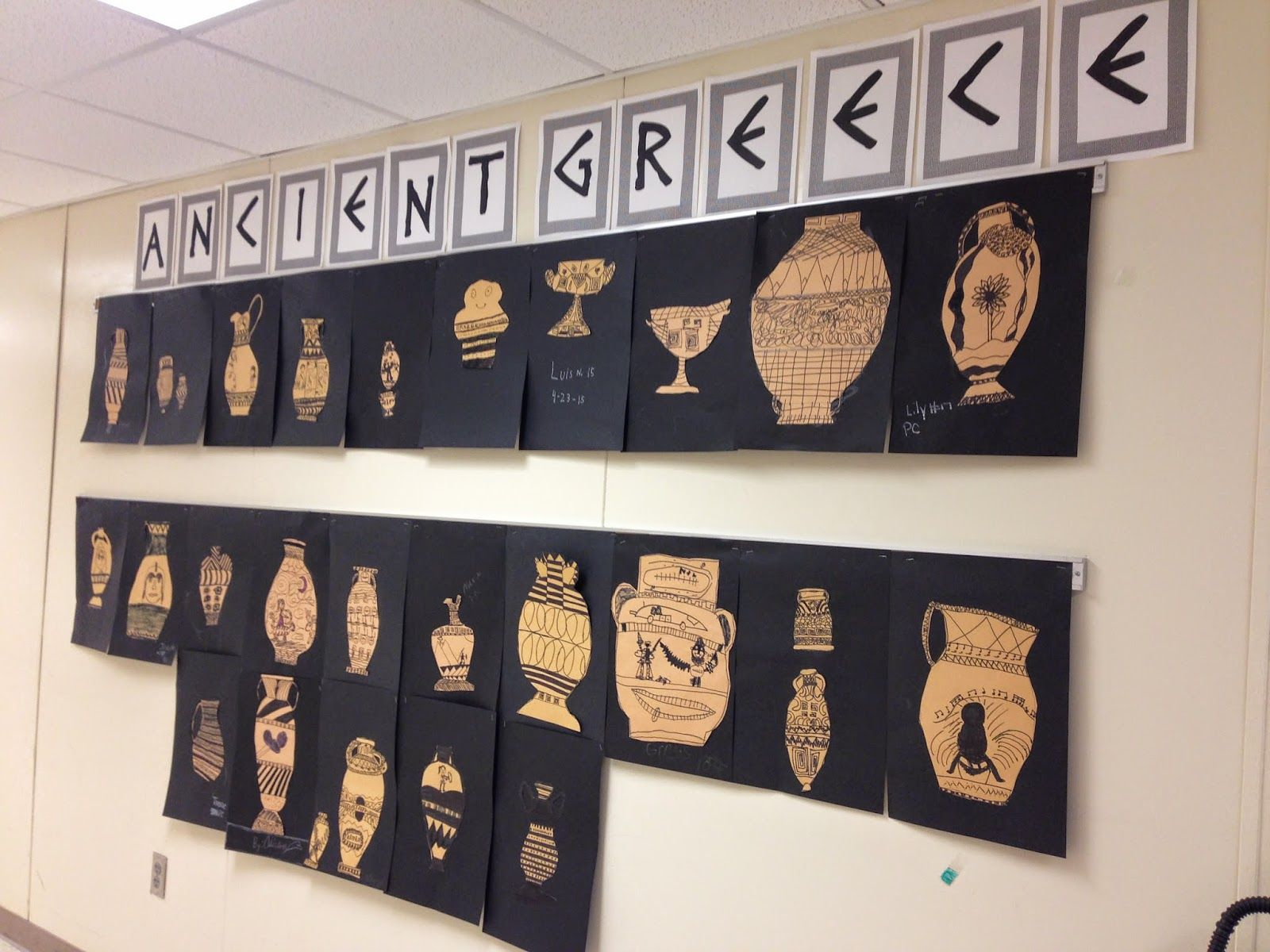 Ancient greece crafts activities ancient greece crafts for Ancient greek decoration ideas