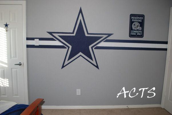 Dallas Cowboy Fever Boys Room