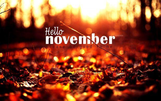 Hello November HD Wallpapers Képek