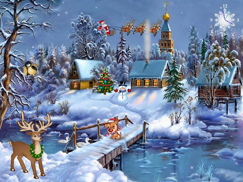 Christmas Screensavers | Time for the Holidays | Cover | Pinterest ...