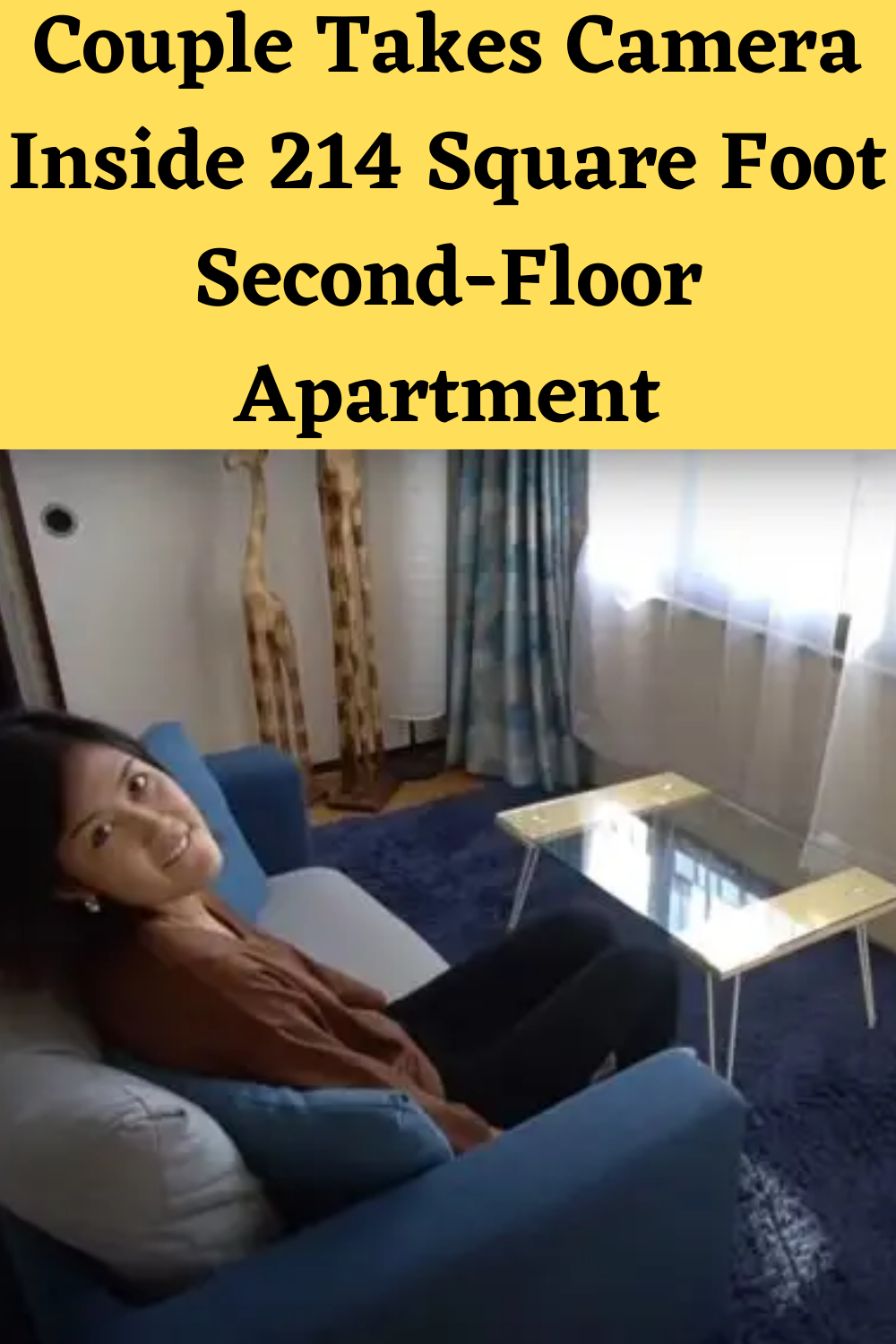 Couple Takes Camera Inside 214 Square Foot Second-