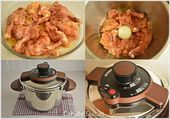 Photo of Chicken Tandoori in pressure cooker ..- Pressure cooker, chicken …