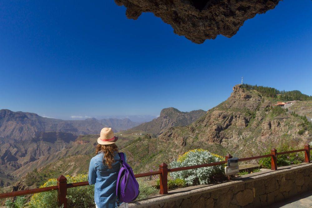 Pueblo de Artenara. Isla de Gran Canaria. Islas Canarias