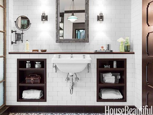 An Industrial Chic Bathroom In Los Angeles Beautiful Industrial And Chic Bathrooms