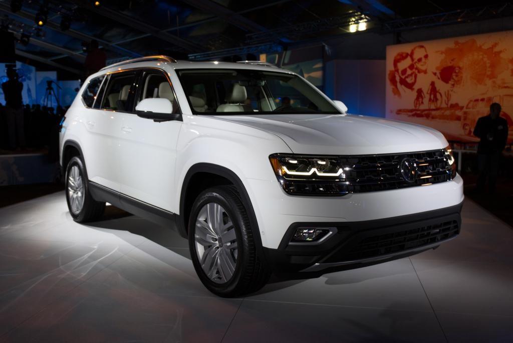 White Volkswagen Atlas Suv Volkswagen 3rd Row Suv Upcoming Cars