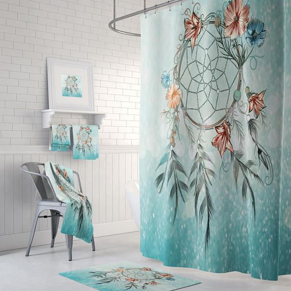 Dreamcatcher Bathroom Decor